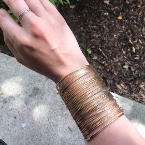 Gold Pharaoh Bracelet Band